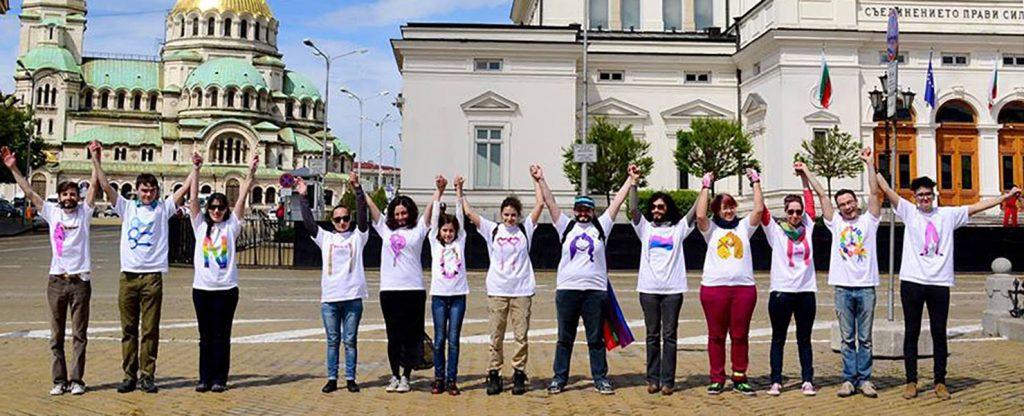 Youth LGBT Organization DEYSTVIE Team