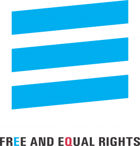 Free and Equal Rights Logo